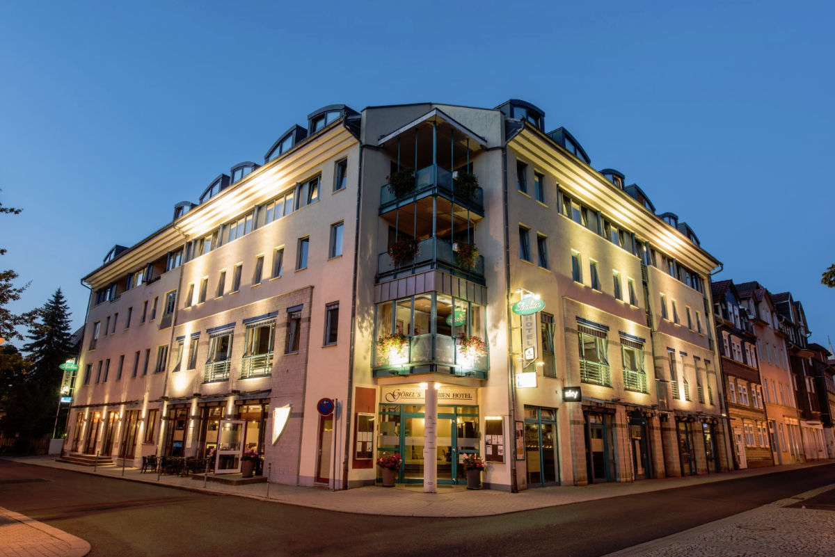 Göbel's Sophien Hotel am Abend