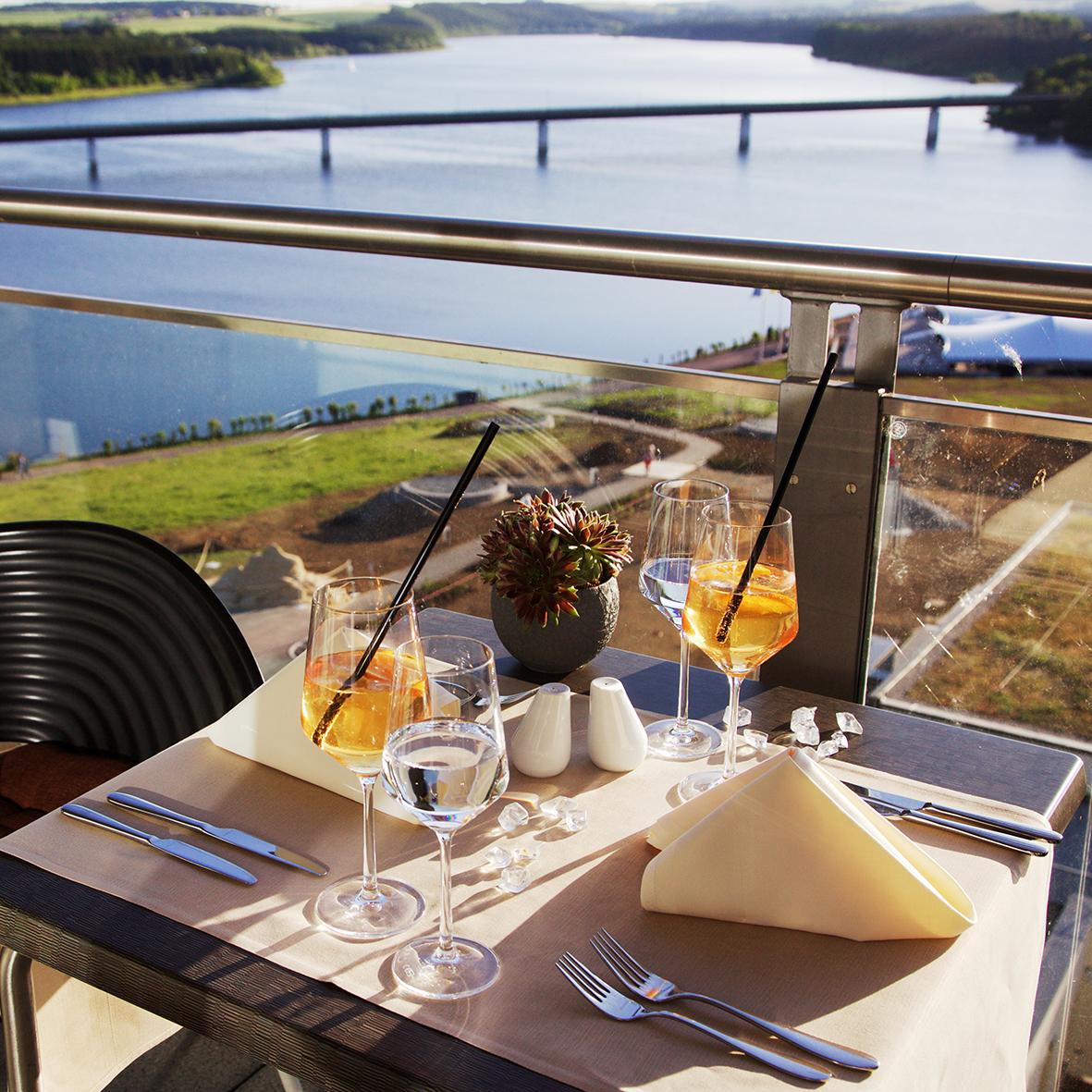 Frühstück Balkon Panorama Restaurant