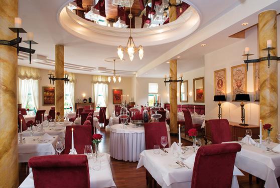 Eine Oase f�r Genie�er - unser Restaurant