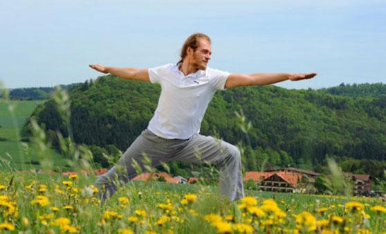 Entspannendes Yoga