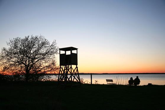 Romantische Sonnenuntergänge