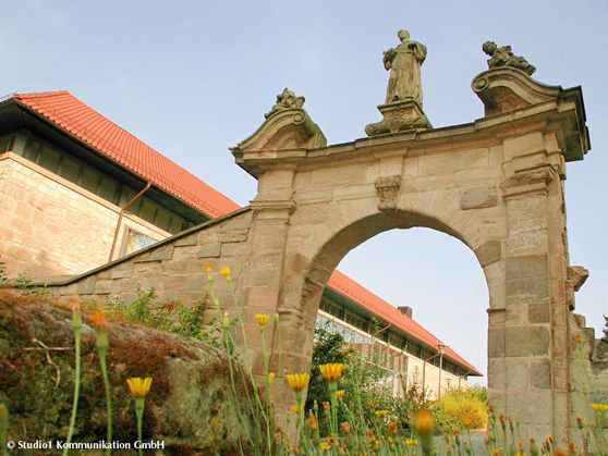 Hotel Teistungenburg auf einem ehemaligen Klostergelände