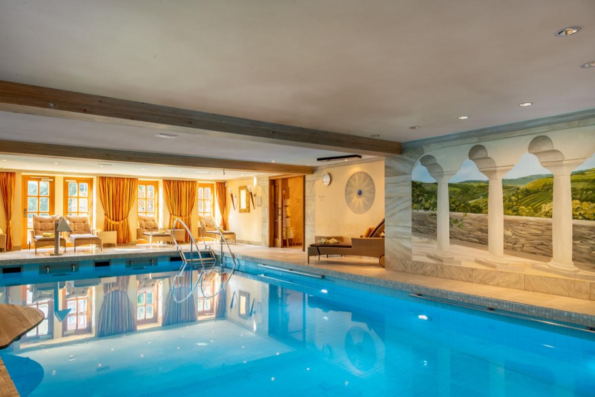 Wellnessbereich Romantik Hotel Schloss Rheinfels