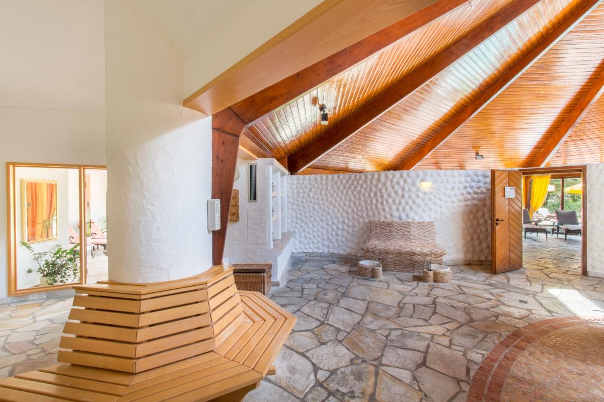 Romantik Hotel Stryckhaus Sauna & Wellnesslandschaft