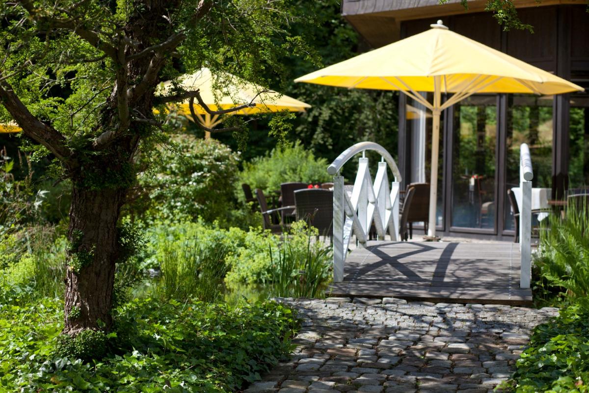 Romantik Hotel Stryckhaus - idyllischer Garten