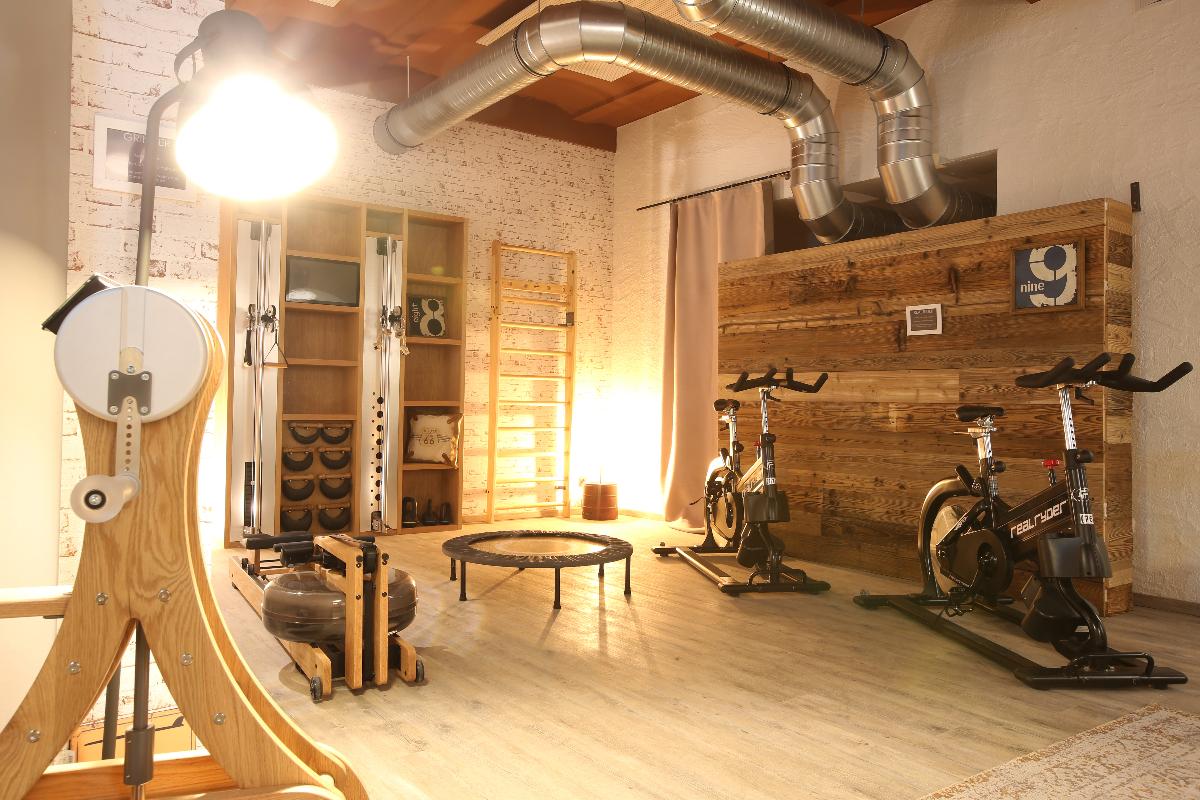 Fitnessbereich - Nägler's Fine Lounge Hotel