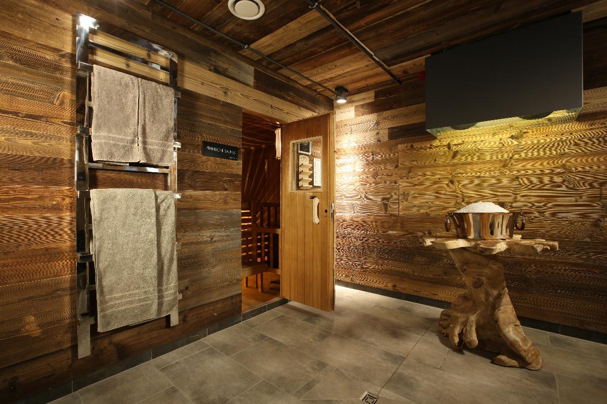 Finnische Sauna - Fine Lounge SPA