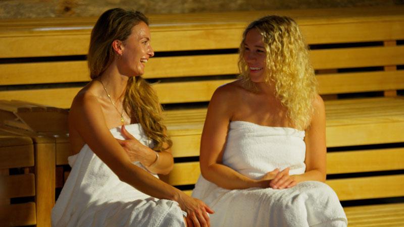 Saunawelt mit vier Saunen und Ruhehaus