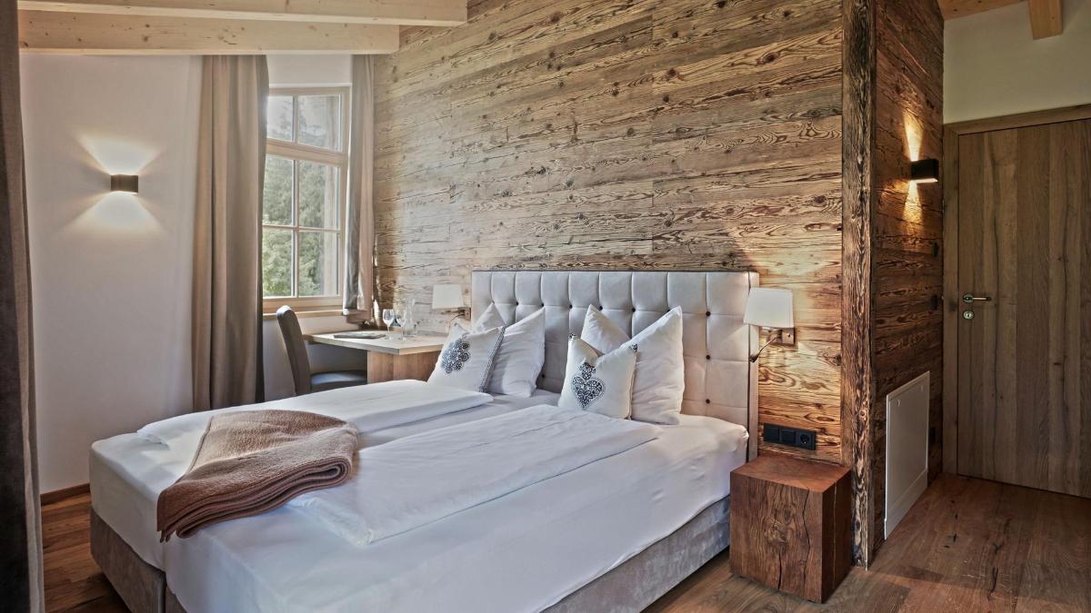 Schlafzimmer im Chalet Spielberg