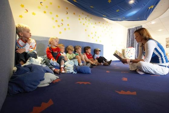 Kinderbetreuung im ROBY Club