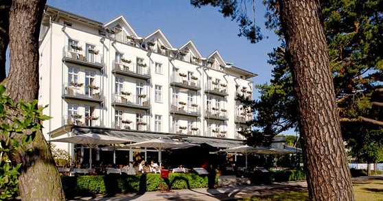 Das Strandhotel Heringsdorf auf Usedom