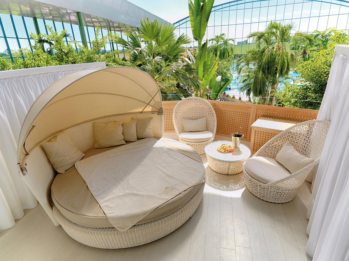 Royal Day Spa Lounge - in der Vitaltherme