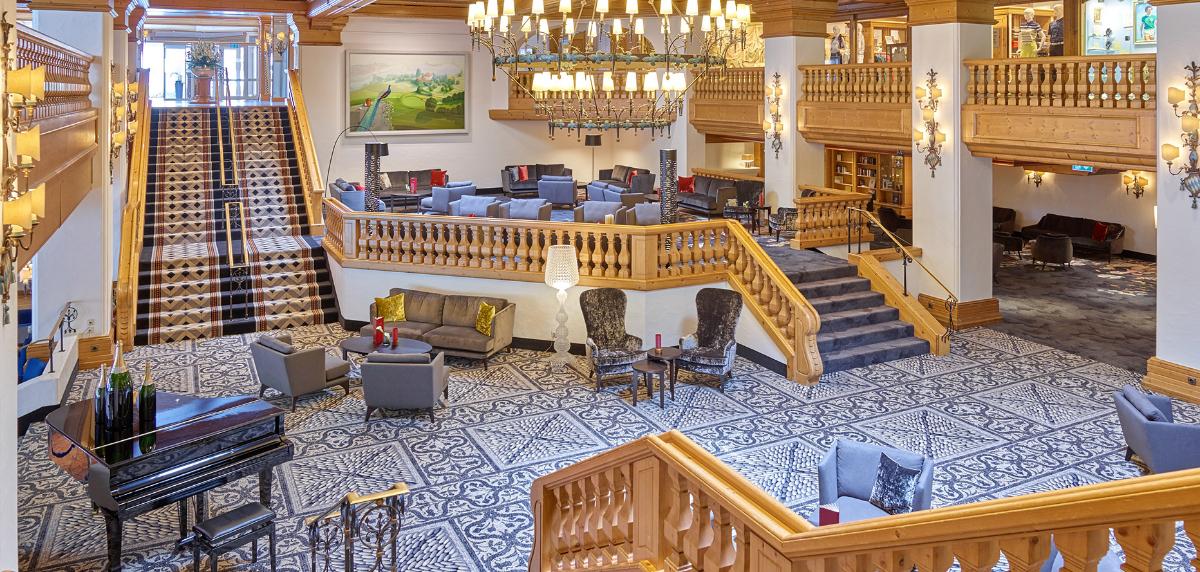 Lobby Hotel Maximilian
