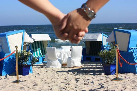 Trauung am Strand