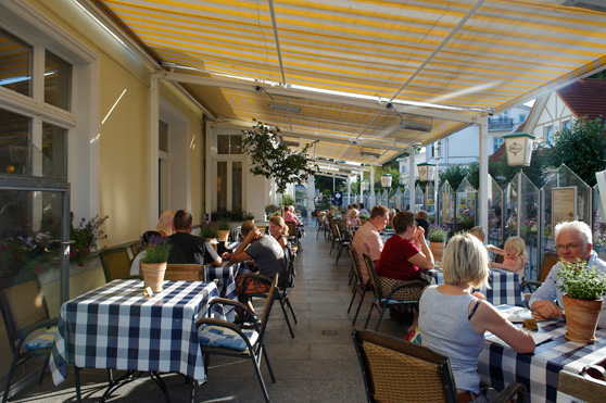 Sonnenterrasse Restaurant BANZINO