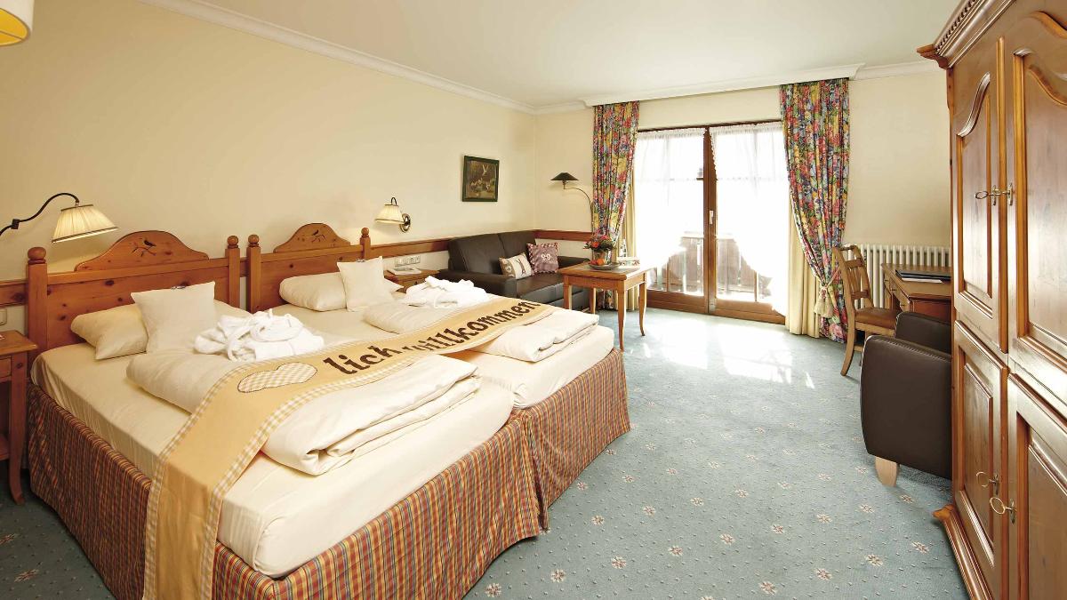 Hotel Zugspitze Zimmer