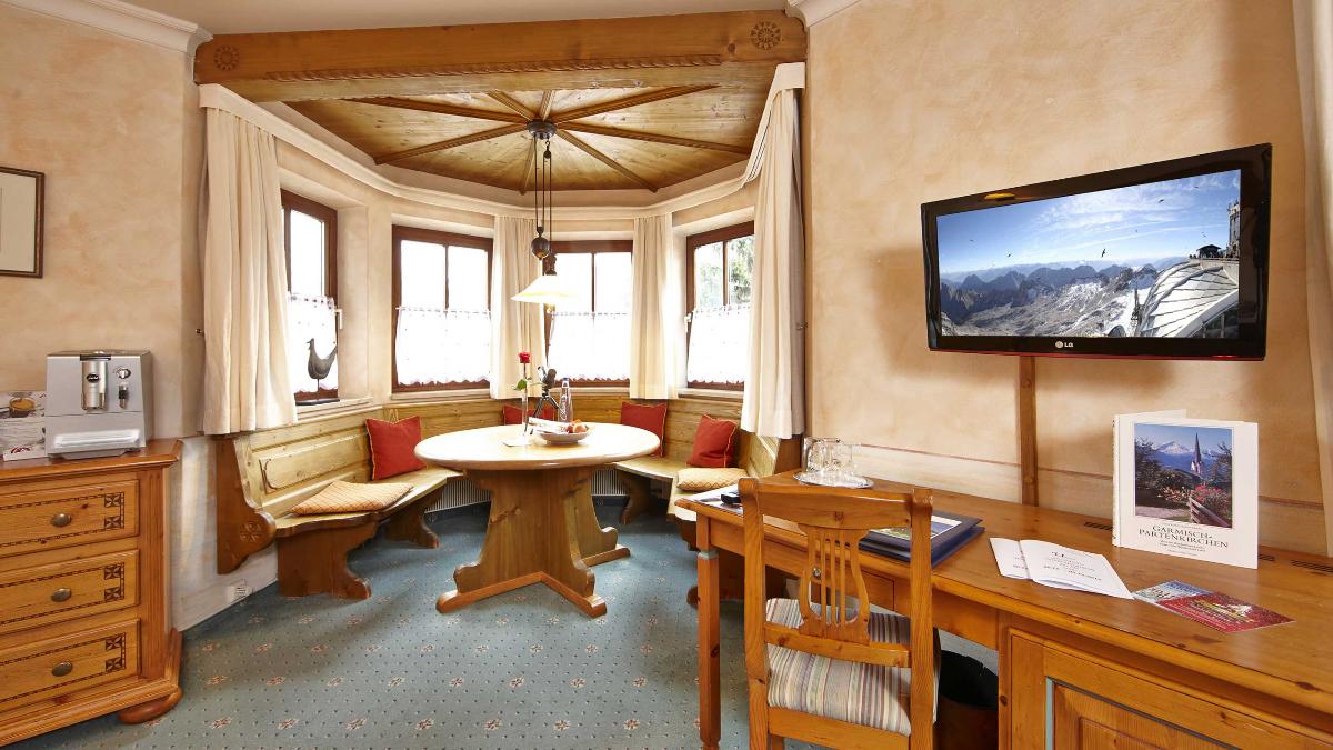 Hotel Zugspitze am Fuße der Zugspitze