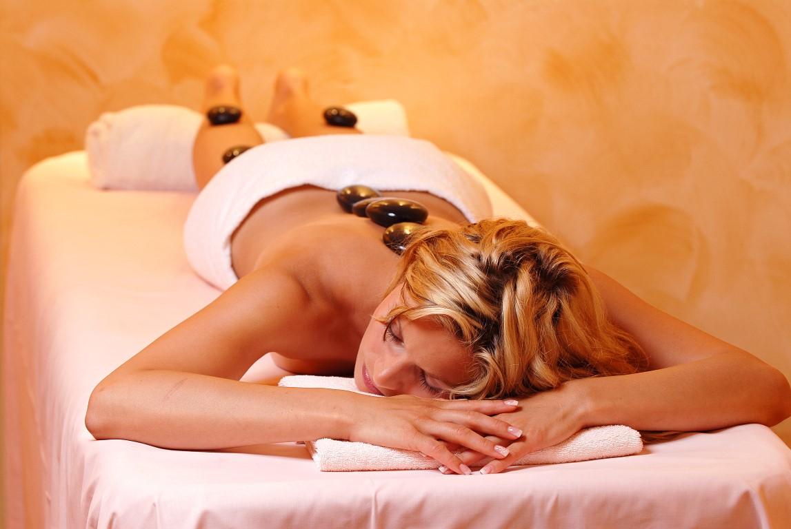 Wellness-Massage mit �l