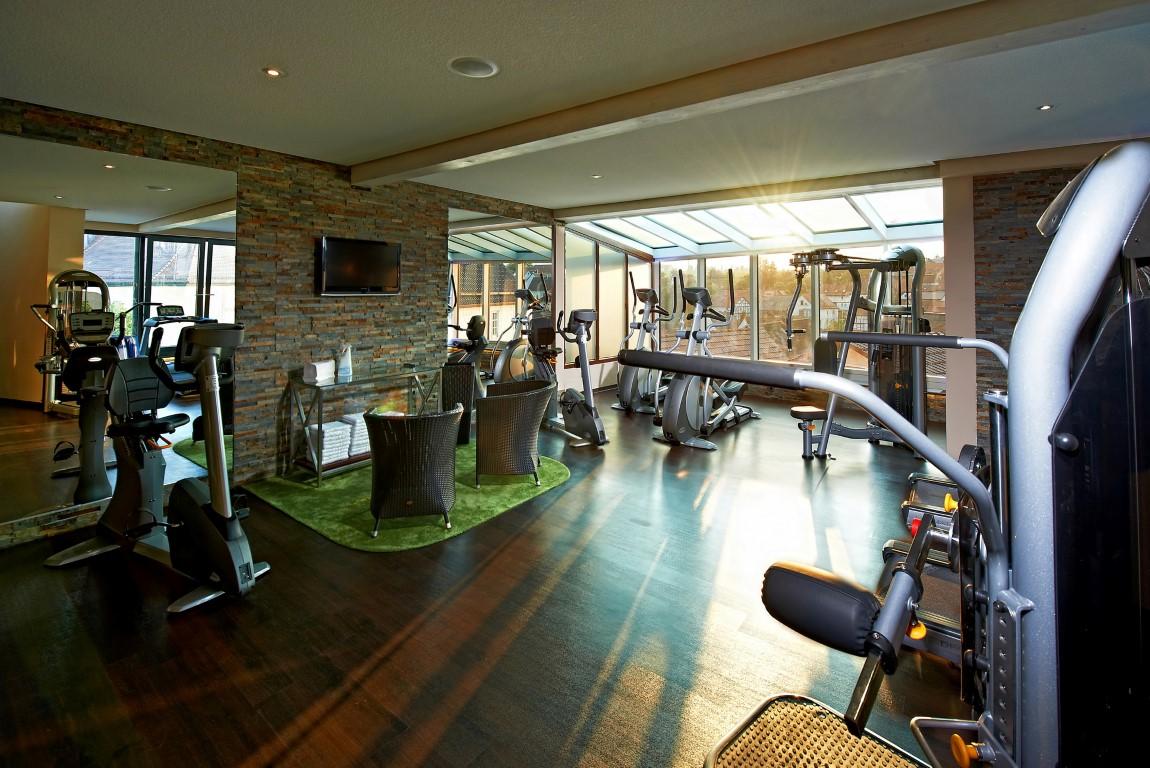 Panorama-Fitnessraum