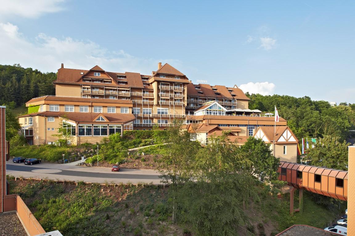 G�bel's Hotel Rodenberg Luftaufnahme