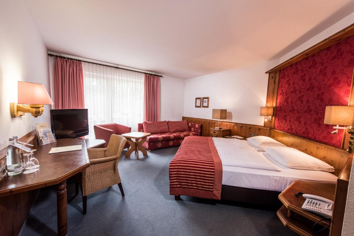 Zimmerbeispiel Komfort-Doppelzimmer