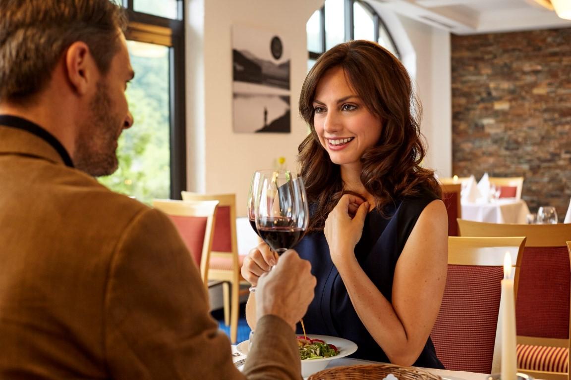 Genießen im Restaurant