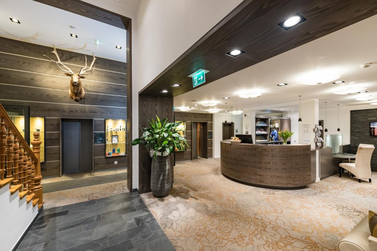Gemütliche Hotellobby