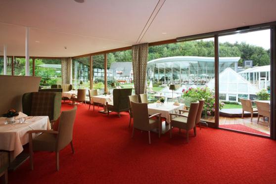 Das romantische Restaurant des Hotels
