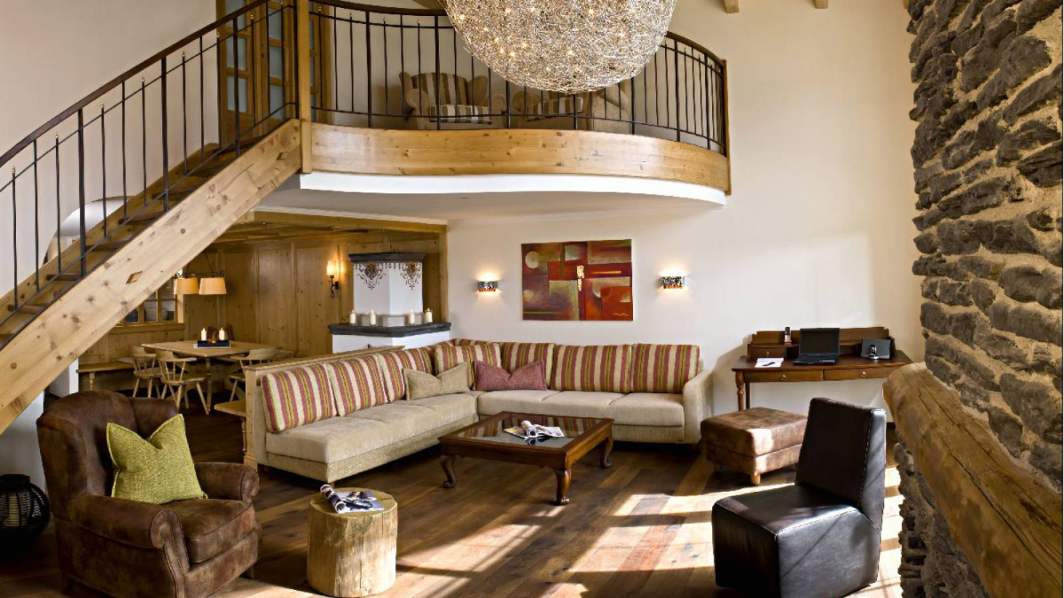 Blick in die Royal-Garden-Suite