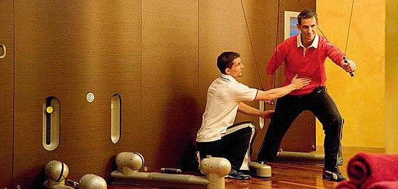 Der Fitnessbereich
