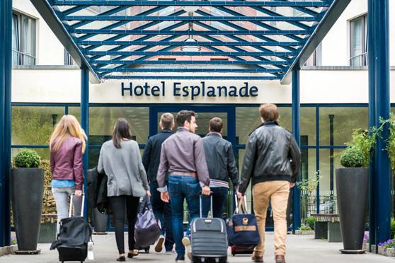 Hotel Esplanade Resort & Spa Haupteingang