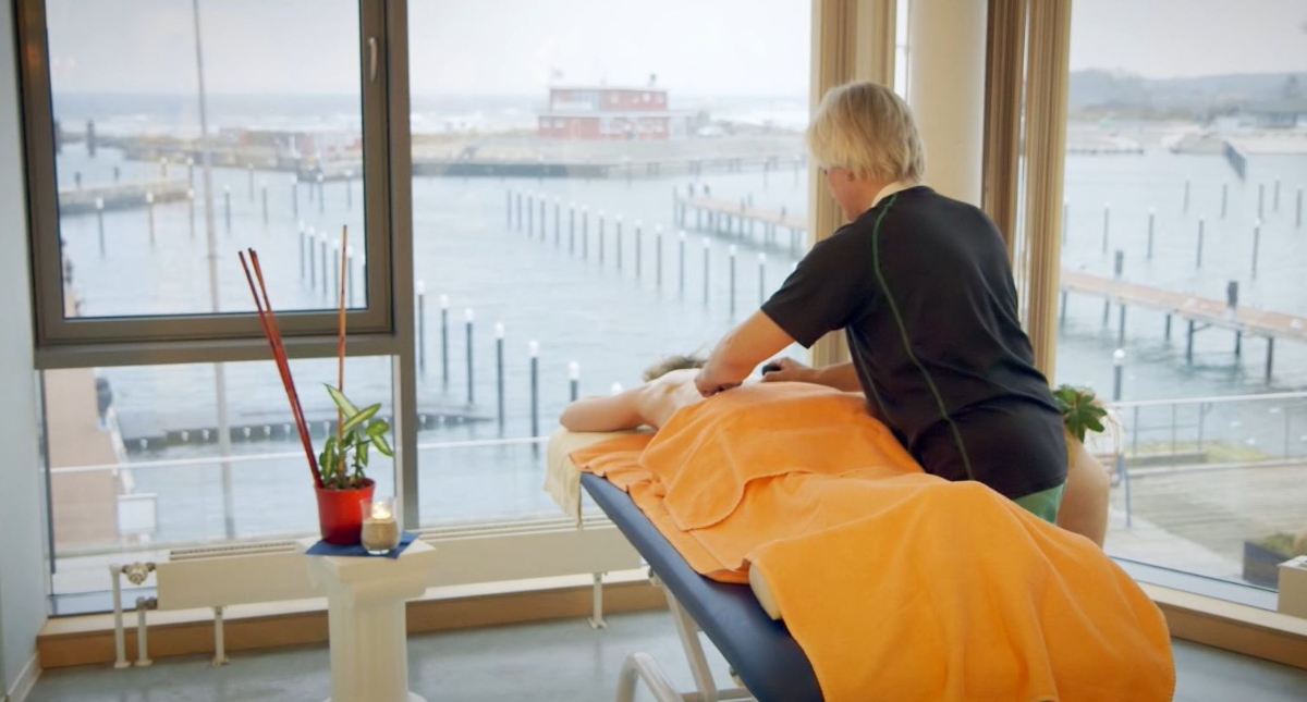 Massagen mit Blick auf�s Meer
