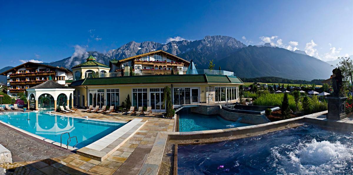 Von Golf bis Wellness in traumhafter Gegend - Alpenresort Schwarz