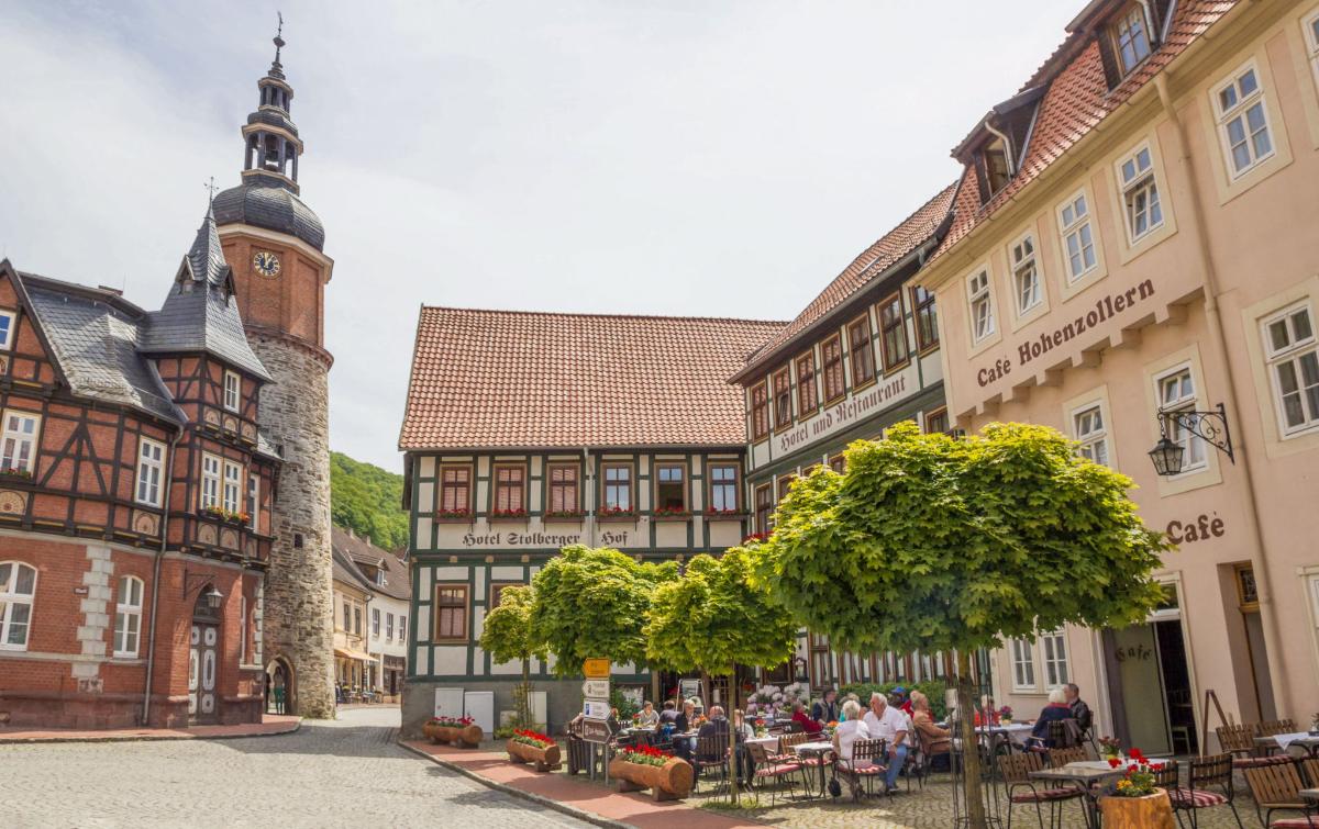 Genuss- und Wohlfühlhotel im historischen Fachwerkstädtchen Stolberg im Harz