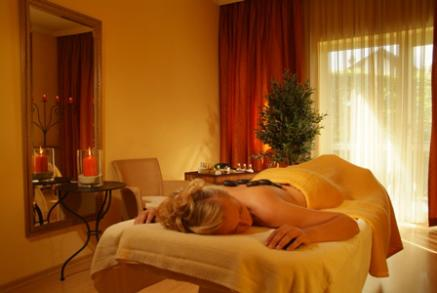 Hot Stone Massage im Columbia Hotel Bad Griesbach