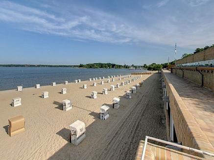 Eine unserer Inspirationsquellen - eines der bekanntesten Strandbäder in Deutschland; Strandbad Wannsee in Berlin
