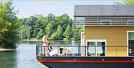 Bildquelle: Wohnbeispiel Hausboot im Center Parcs
