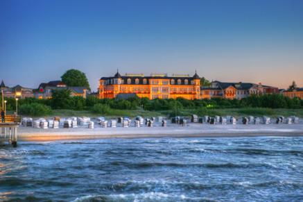 Das 5 Sterne Hotel der Seetel Gruppe - das Romantik Seehotel Ahlbecker Hof am Ostseestrand von Ahlbeck auf Rügen - auch hier werden Auszubildende gesucht!