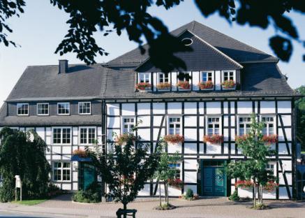Romantik Hotel Knippschild in Arnsberg, nur wenige Kilometer vom Kneippwanderweg entfernt. Auch hier gehts immer sehr entspannt zu.