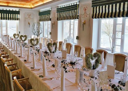 Zauberhafte Hochzeitslocation mit Bezug zur Natur (auf dem Bild Alter Meierhof, an der Flensburger Förde, Nahe Dänemark)