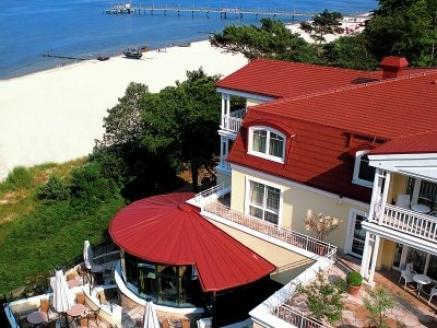 Travel Charme Strandhotel Bansin - eines der teilnehmenden Hotels bei den Usedomer Wellnesstagen