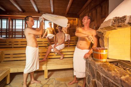 Der Vital Spa & Garden im bayrischen Bad Brückenau hat im Medical SPA auch ein Stangerbad