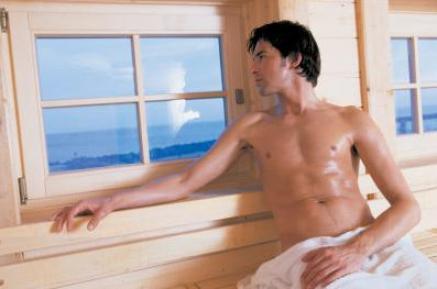 ild-Quelle: Damp Resort, Ostsee - Auch Männer mögen es heiß - auf jeden Fall in der Sauna