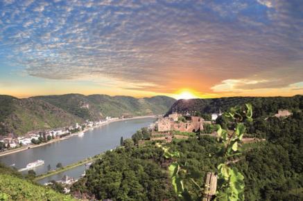 Blick von Schloss Rheinfels (Quelle/Bild: Schloss Rheinfels)