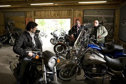 Harley-Davidson Academy im Robinson Club am Fleesensee - Auch ein heimlicher Männerwunsch Harley fahren