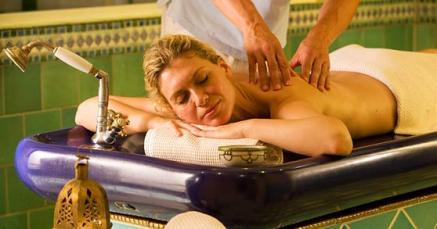 Für viele der Wellness-Inbegriff, eine wohltuende Massage (Bildquelle: Strandhotel Heringsdorf)