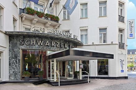 """Der """"Schwarze Bock"""" gegenüber vom Casino"""