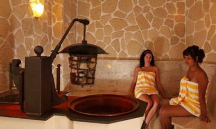 Blick in die Wellnessoase im Hotel Weisser Bär in Rheinland Pfalz