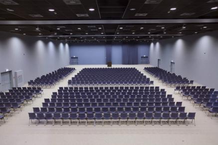 Großzügiger Tagungsbereich (Bildquelle: Maritim Hafenhotel Rheinsberg)