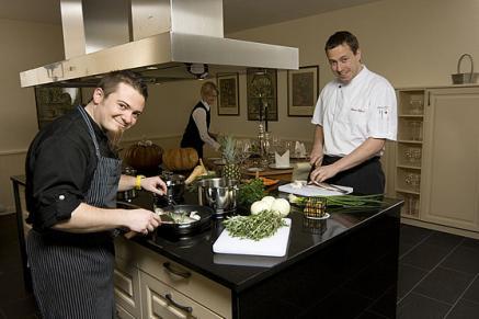 Kreativküche auch vegetarisch, regional und Bio gibts im Naturresort Schindelbruch